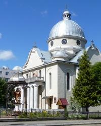 Греко-католицька церква св. Івана Богослова (1742 р.) в смт. Богородчани