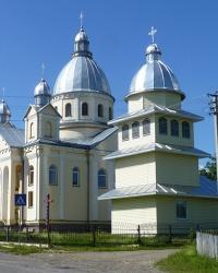Храм Зачаття Праведної Анни Пресвятої Богородиці в с. Дзвиняч