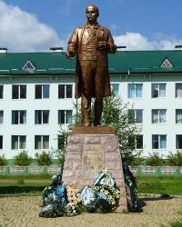 Пам'ятник Т.Г.Шевченку в смт. Солотвин