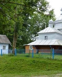 Церква Успіння Пресвятої Богородиці (1739 р.) с.Гвізд