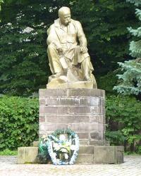 Пам'ятник Т.Г.Шевченко в смт. Делятин