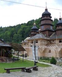 Церква св. Іллі, Монастир Св.Іллі в м. Яремче