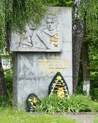 Обеліск Герою Радянського Союза О. Корякову в с. Боднарів