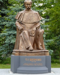 Пам'ятник Т.Г.Шевченко в смт. Брошнів-Осада