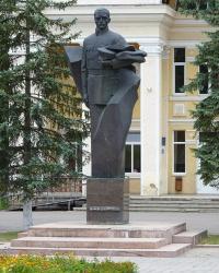 Пам'ятник Дмитру Вітовському в смт. Брошнів-Осада