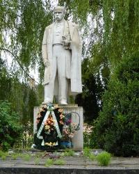 Пам'ятник Т.Г.Шевченко в с. Куровичі