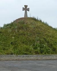 Козацька могила на місці Зборівської битви