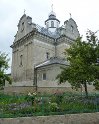 Храм Преображення Господнього в м. Зборів