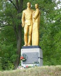 Братское кладбище в г. Гайсин