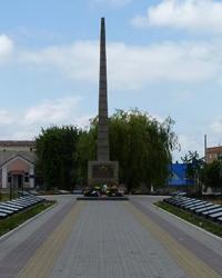 Мемориал советским воинам в г. Гайсин