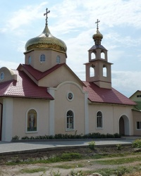 Церковь Святителя Ермогена в с. Луначарское