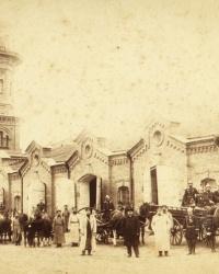 ул.Калинина, 10 (Пожарная каланча с курантами) в г.Александрия