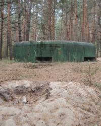 ДОТ 555. Узел обороны Гута-Межигорская КУР