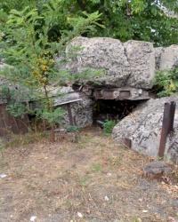 ДОТ 551. Узел обороны Гута-Межигорская КУР