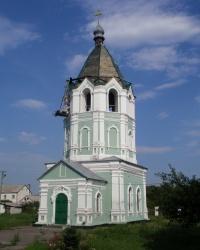 Церковь-колокольня Святой Варвары в с. Китайгород