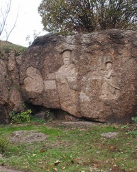 Шевченківська скеля в м. Корсунь-Шевченківський