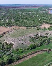 Сауир Гора (Урочище Савур-Могила) на річці Конка