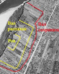 Татарский городок (Знаменское городище). Татарские Старые Окопы