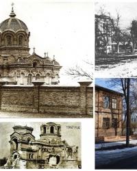 Архиерейская церковь (Крестовоздвиженская). Намоленные места Екатеринослава