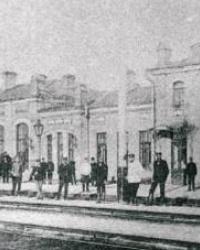 Железнодорожная станция Верховцево (1884 г. - станция Любомировка)