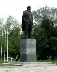 Памятник Ленину в г. Новомосковск