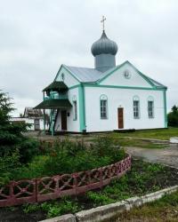 Храм пресвятой троицы в селе Алексеевка