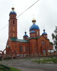 Храм Смоленской иконы Божией Матери в г. Лозовая
