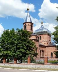 Свято-Преображенский храм в пгт. Великий Бурлук