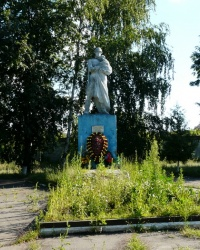 Братская могила советских воинов в пос. Приколотное