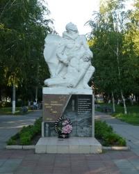 Памятник воинам-интернационалистам в Волчанске