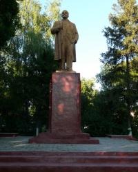 Памятник В.И. Ленину в Волчанске