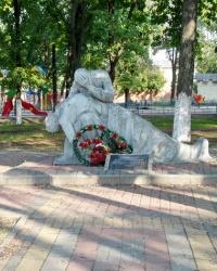 Памятник воинам-афганцам в г. Люботин