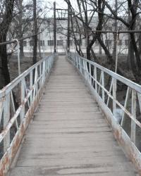 Мост над Лопанью. Тайник.