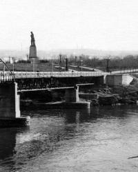 Пешеходный мост на Монастырский остров в г. Днепропетровск