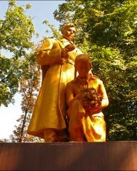 Памятник погибшим в годы Великой Отечественной войны 1941-1945гг. в г. Ахтырка