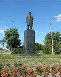 Памятник В.И. Ленину в г. Богодухов