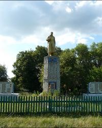 Братская могила советских воинов в с. Ковали