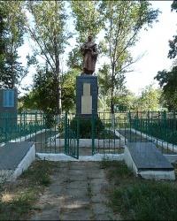 Братская могила советских воинов в с. Крысино