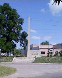 Памятник Миргородским Краснознаменным стрелковым дивизиям в г. Миргород