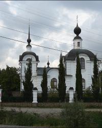 Храм во имя святого праведного Иоанна Кронштадтского в с. Морское