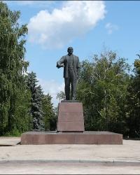 Памятник В.И.Ленину в пгт. Новая Водолага