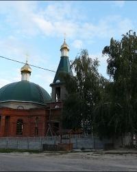 Крестовоздвиженский храм в с. Новоселовка