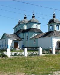Церковь Святого Николая Чудотворца в пгт. Ольшаны