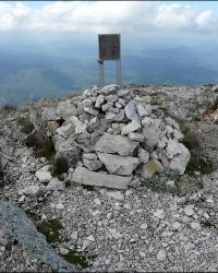 "Памятник группе ""Витязи"" на вершине Эклизи-Бурун"