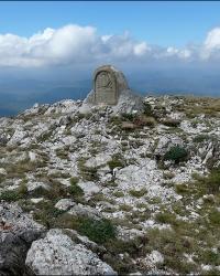 Развалины греческой церкви «Панагия» на вершине Эклизи-Бурун