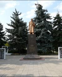 Братская могила советских воинов в г. Святогорск