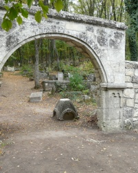 Караимское кладбище в Иософатовой долине (у Чуфут-Кале)