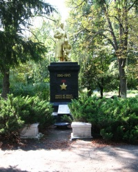 Братская могила в п. Селекционном Харьковского района