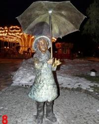 Бронзовые фигурки в парке им.Горького. Квест