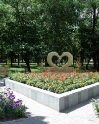 Памятник влюбленным в г. Чугуев